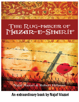 the rugmaker of mazar e sharif conflict Conflict in najaf mazari's 'the rugmaker of mazar-e-sharif' 2082 words | 8 pages the rugmaker of mazar-e-sharif essay one the rugmaker of mazar-e-sharif conflict by najaf mazari and robert tillman is a novel about najaf's memoir of having to live with conflict and of enduring its in-depth consequences.